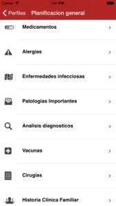 App Historia medica de la familia