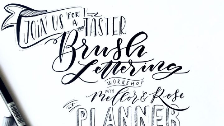 PlannerFest 2019 Manchester with Mellor and Rose Calligraphy Journal // Mellor & Rose
