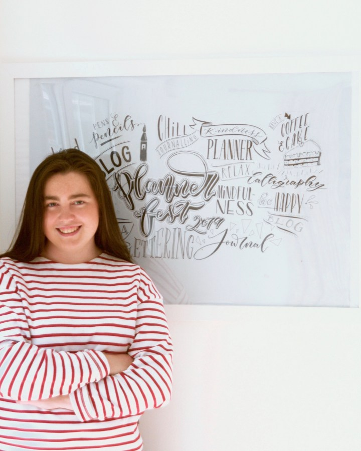 Polly Mellor of Mellor and Rose - Handlettering & Calligraphy artist