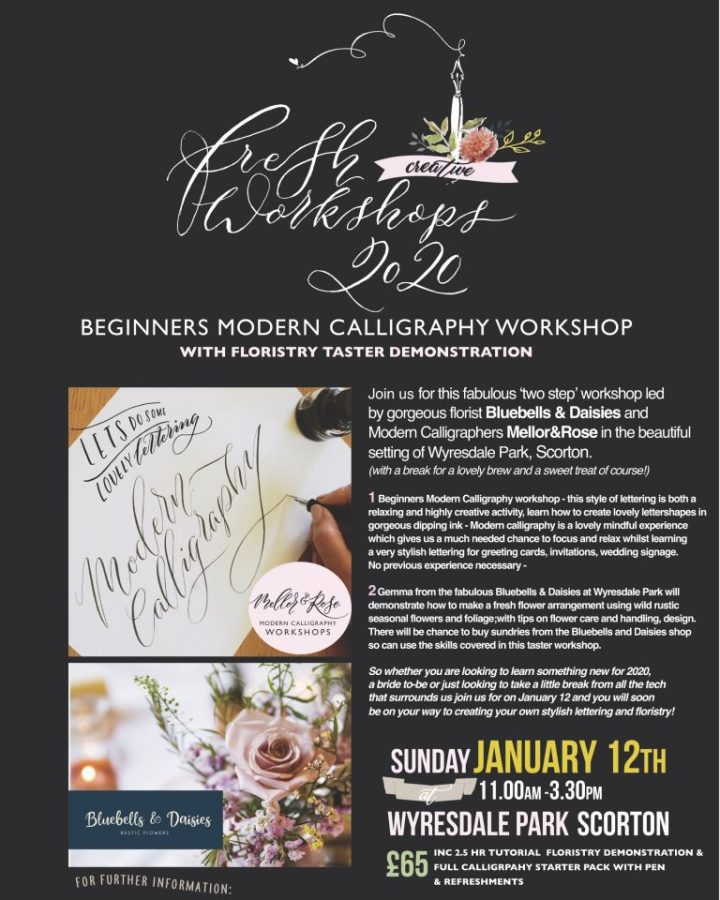 Mellor and Rose Calligraphy