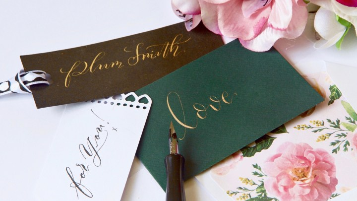 5 steps to Mindful Calligraphy