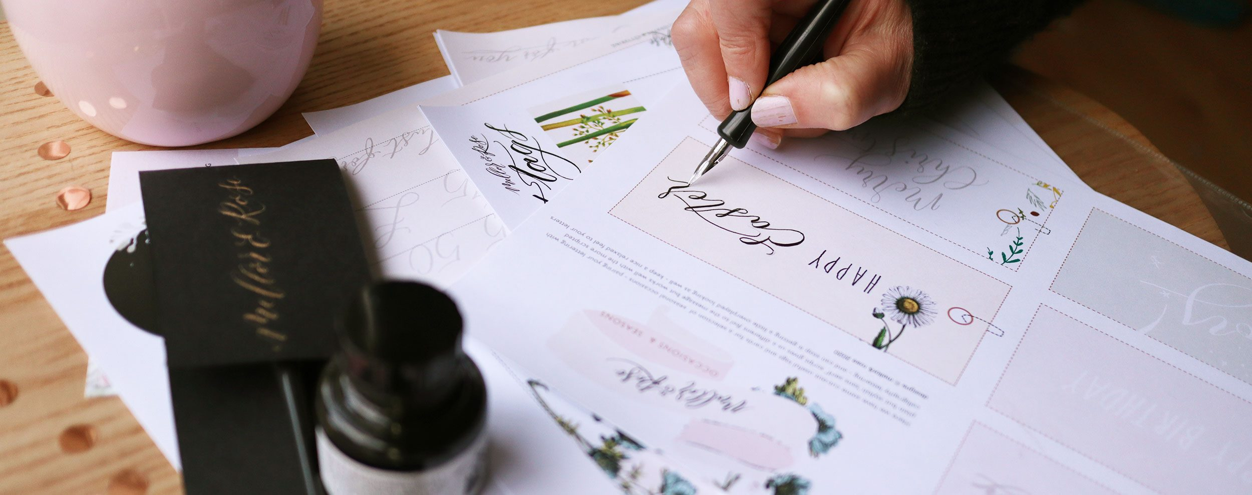 Lytham Hall Calligraphy Workshop