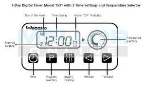 Webasto Digital TimerAlarm 24v, Night Heater Kits
