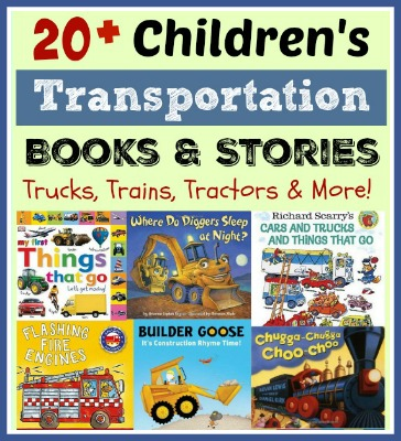 Kids Gift Guide: Transportation Books