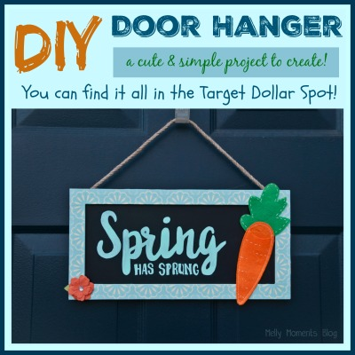 Dollar Spot DIY – Wk. 1 (Spring Frame)