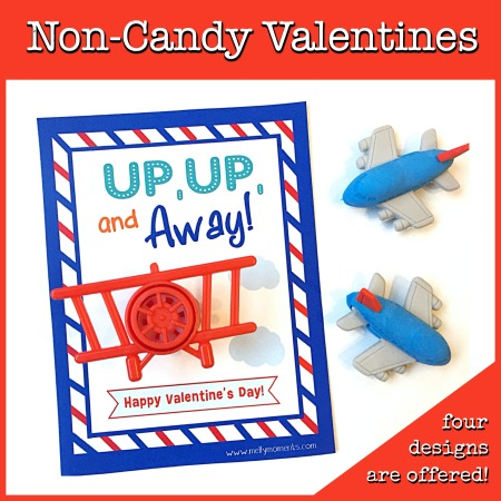 Non-Candy Valentines for Kids!