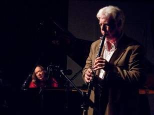 Connie Crothers and Bill Payne. Photo by Scott Friedlander.