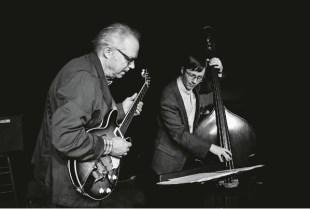 Bill Frisell and Thomas Morgan. Photo by John Rogers.