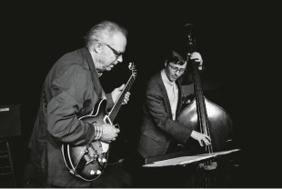Bill Frisell and Thomas Morgan. Photo by John Rogers.