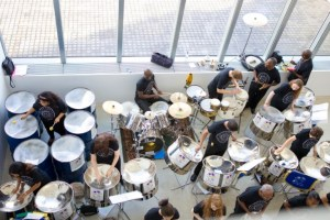 From above at the Turner Contemporary in Margate