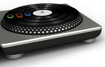 DJ Hero - Screenshot - Turntable Controller