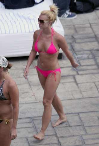 Britney Spears in bikini