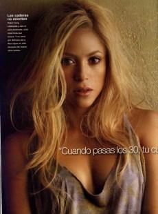 Shakira posa per Gente Magazine 2