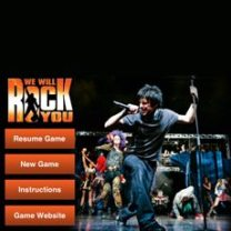 We Will Rock you-Iphone