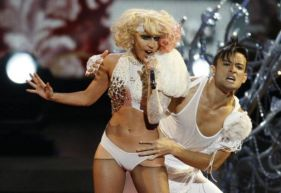 Lady Gaga agli Mtv Video Music Awards 2009 2