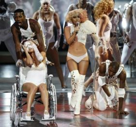 Lady Gaga agli Mtv Video Music Awards 2009 3