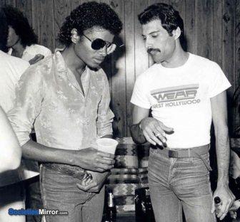 Duetto storico tra Michael Jackson e Freddie Mercury
