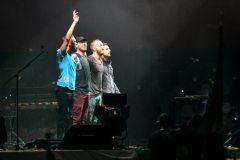Coldplay salutano il pubblico