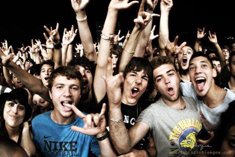 Fan degli Avenged Sevenfold scatenati
