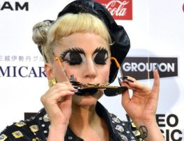Lady Gaga-mostra il trucco