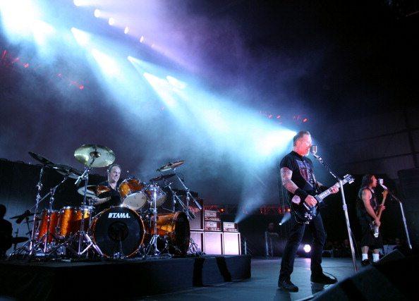 Metallica sul palco (2010)