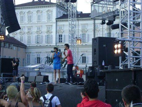 Fabrizio Biggio e Valentina Correani - Mtv Days 2011