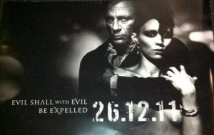 """Locandina Ufficiale - """"The Girl With The Dragon Tattoo"""""""