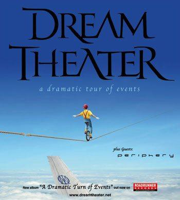 I Dream Theater tornano in Italia con tre concerti