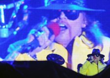 Axel Rose canta Rock in Rio