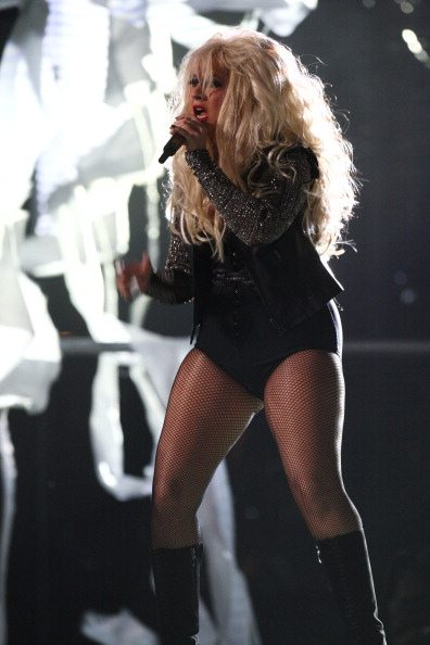 Christina Aguilera al Millenium Stadium | © Dave J Hogan/Getty Images