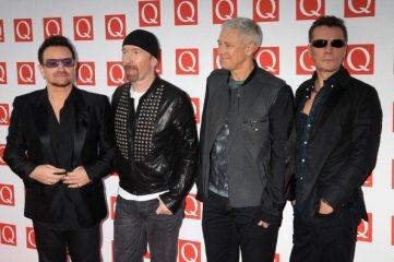 U2 - Q Awards | © Chris Jackson/Getty Images