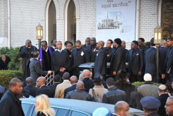 Funerali di Heavy D | © Mike Coppola/Getty Images