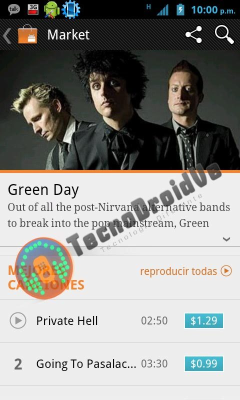 Google Music Store: i primi screenshot