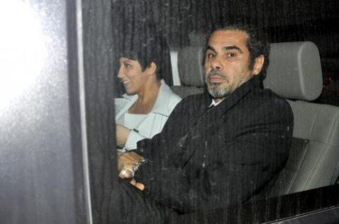 Malika Ayane e Federico Brugia in macchina