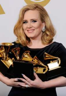 Adele ai Grammy Awards | © Kevin Winter / Getty Images