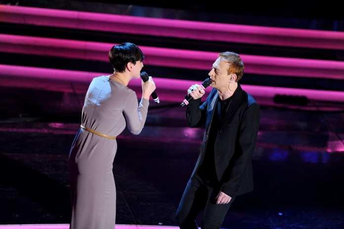 Sanremo 2012:  Arisa duetta con Mauro Ermanno Giovanardi