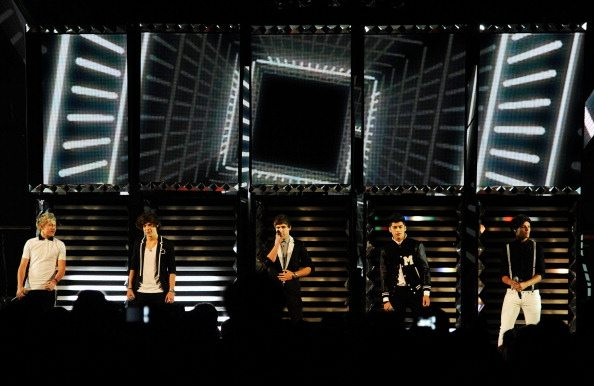 One Direction sul palco | © Kevork Djansezian/Getty Images