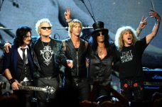 Gilbert Clarke, Matt Sorum, Duff McKagan, Slash e Steven Adler | © Michael Loccisano/Getty Images