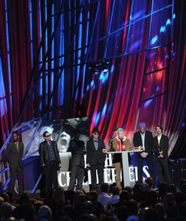 Flea - Rock And Roll Hall of Fame Induction Ceremony | © Michael Loccisano/Getty Images