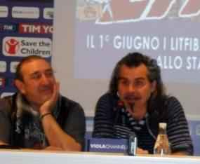 Ghigo Renzulli e Piero Pelù   © Melodicamente