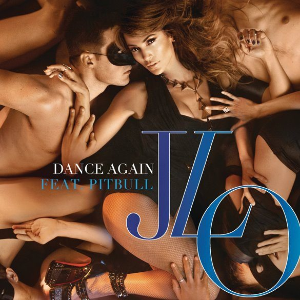 "Jennifer Lopez - ""Dance Again"" - Artwork"