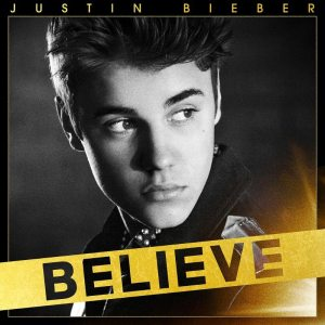 "Justin Bieber - ""Believe"" - Artwork Versione Standard"