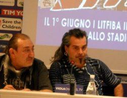 Renzulli e Pelù in conferenza   © Melodicamente
