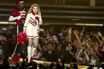 Madonna sul palco in Israele | © JACK GUEZ/AFP/GettyImages