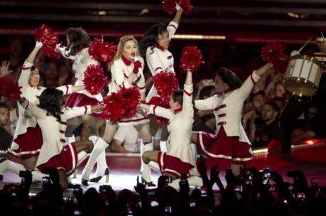 Madonna balla sul palco del Ramat Gan Stadium | © JACK GUEZ/AFP/GettyImages