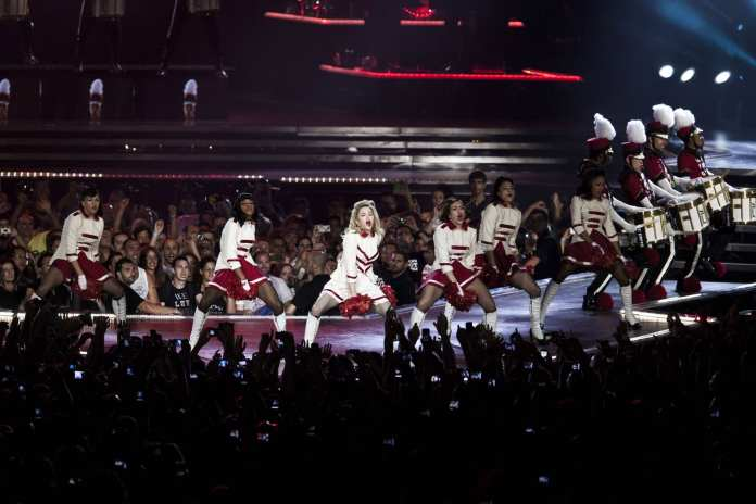 Madonna in concerto a Roma, la probabile scaletta del live