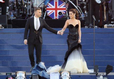 Gary Barlow e Cheryl Cole | © Dan Kitwood/Getty Images