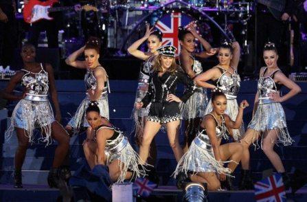 Kylie Minogue sul palco | © Dan Kitwood/Getty Images