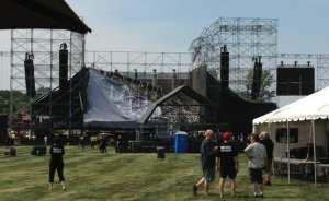 Crollo del palco a Toronto
