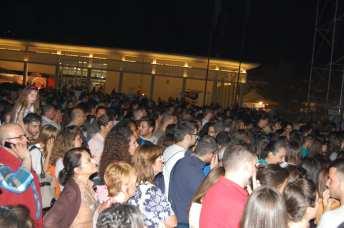 Pubblico al concerto di Noemi - Napoli